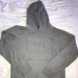RVCA HOODED SWEATSHIRT